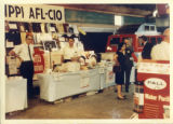 Mississippi AFL-CIO booth at the State Fair, Jackson, Mississippi, October 1966.