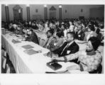 Delegates in the audience at a Mississippi State AFL-CIO convention, Jackson, Mississippi 1972.