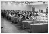 Audience at Mississippi AFL-CIO convention, Jackson, Mississippi, 1976.