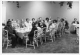 Mississippi AFL-CIO convention attendees at a reception, Jackson, Mississippi, 1976.