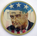 LBJ for the USA [button], circa 1960s