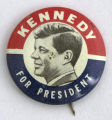 Kennedy for President [button], 1960