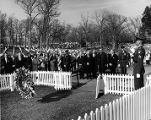 E. H. Williams at funeral ceremony for John F.Kennedy