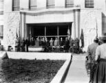 Fulton County Court House dedication