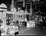 Booth sponsored by the Atlanta Industrial Union Council -- CIO, showing union-made products, 1949...