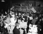 Davison-Paxon's employee costume party, Atlanta, Georgia, December 28, 1948. In this photo...
