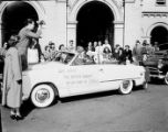 Davison-Paxon commissioned photographs of Easter Bunny sitting in a convertible automobile. The...