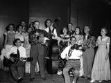 Davison-Paxon's square-dance party, Chastain Park Amphitheatre, Atlanta, Georgia, July 21, 1949....