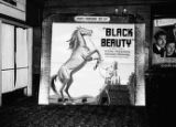 """Black Beauty"" lobby display, Paramount Theatre, Atlanta"