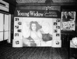 """Young Widow"" lobby display, Paramount Theatre, Atlanta"