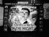 """Somewhere in the Night"" lobby display, Paramount Theatre, Atlanta"
