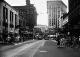Peachtree Street, Atlanta (looking south toward Candler Building), 1944