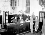 USO Service Men's Center information desk, Atlanta, Georgia, 1945.