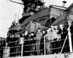 Southern Federal Saving and Loan Association; Scouts onboard ship
