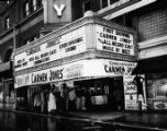 Roxy Theatre, Atlanta, main entrance, 1954