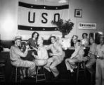 USO Service Men's Center club, Atlanta, Georgia, 1946.