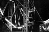 One of the twin ferris wheels at the Rubin and Cherry Exposition, held during the 24th annual...