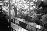 Crowd at the Rubin and Cherry Exposition, held during the 24th annual Southeastern Fair, at...