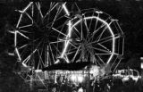 Twin ferris wheels at the Rubin and Cherry Exposition, held during the 24th annual Southeastern...