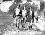 Nell Hodgson Woodruff (Right) and two friends at Ichauway Plantation, Baker County, Georgia, 1931.