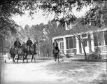Mounted hunting party returns to the main house, Ichauway Plantation, Baker County, Georgia, 131.