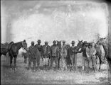 African American men with horses, Georgia, 1926.