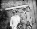 Oglethorpe University benefactor John T. Lupton and his wife, Elizabeth Patten Lupton visit...