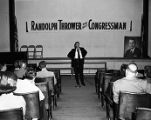 Randolph Thrower campaign event, 1956