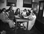 Auburn Branch of the Carnegie Library of Atlanta, discussion group, 1948