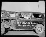 Bill Milman's Garage Race Car during the Southeastern Fair, 1940