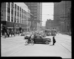 Traffic intersection, downtown Atlanta, 1943