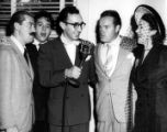 Cast of the Bob Hope Show (radio) with WAGA Radio host, ca. 1946, 1.