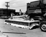 Sears, Roebuck parade float, unidentified parade