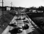 Northside Drive and Hemphill Avenue intersection (near 14th Street), Atlanta, 1954
