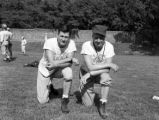 Two Football Coaches, GACA 1951 All-Stars Game, at Georgia Tech