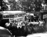 Governor Eugene Talmadge campaigning in Gainesville, Georgia, 1942