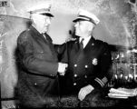 Chief Marion A. Hornsby and  Captain A.G. Holcomb