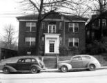 Apartment building at 1145 West Peachtree Street, NW, Atlanta, Georgia, January 29, 1944.