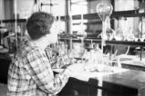 Agnes Scott College student in chemistry laboratory, Decatur, Georgia, March 1, 1937.