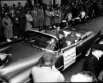 Georgia governor's parade, 1955 (Governors' car)