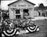 Wartime event at Murrary Company (Georgia Military Academy band)