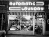 Automatic Laundry, 1877 Piedmont Avenue at intersection of Rock Springs Road, Atlanta, Georgia,...