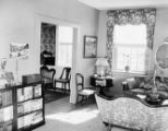Interior of apartment occupied by Margaret Mitchell, Piedmont Avenue, Atlanta, Georgia, June 1952.