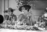 Members of the Atlanta Woman's Club, during a luncheon for retiring president W.F. Milton, in the...