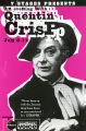 An Evening with Quentin Crisp, postcard announcing the performance at 7 Stages Theatre, Atlanta,...