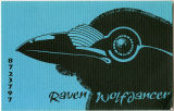 Business card, Raven Wolfdancer, 8723797, Atlanta, Georgia, 1980s?
