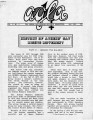 Athens Gay/Lesbian Alliance Newsletter (Athens, Georgia), volume 1, number 5 (May 1985). (11 pages)