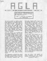 Athens Gay/Lesbian Alliance Newsletter (Athens, Georgia), volume 1, number 4 (April 1985). (7...