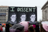 I Dissent sign, Women's March on Washington, 2017-01-21