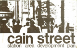 Cain Street: Station Area Development Plan, 1975